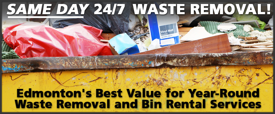 Edmonton's Best Value for Year-Round Waste Removal and Garbage Bin Rental Services