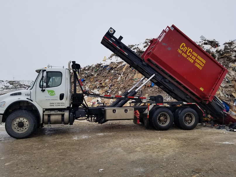 Junk Removal Edmonton | CnC Waste Solutions Inc